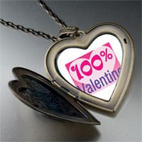Necklace & Pendants - %  heart valentine photo large heart locket pendant necklace Image.