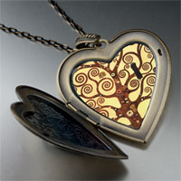 Necklace & Pendants - the tree of life photo large heart photo heart locket pendant necklace for mom Image.