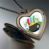 Necklace & Pendants - a pot gold large heart locket pendant necklace Image.