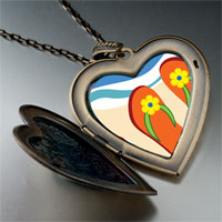 Necklace & Pendants - christian cross photo large heart locket pendant necklace Image.