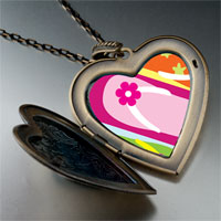Necklace & Pendants - travel sandal photo large heart locket pendant necklace Image.