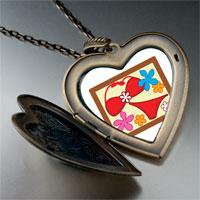 Necklace & Pendants - travel bikini photo large heart locket pendant necklace Image.
