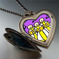Necklace & Pendants - religion christian church choir photo large heart locket pendant necklace Image.