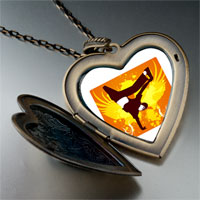 Necklace & Pendants - music trumpet photo large heart locket pendant necklace Image.