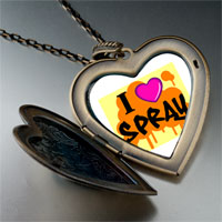 Necklace & Pendants - music love spray photo large heart locket pendant necklace Image.