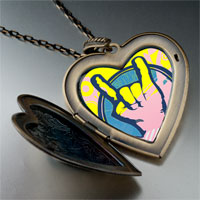 Necklace & Pendants - music love photo large heart locket pendant necklace Image.
