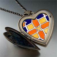 Necklace & Pendants - artwork tile photo large heart locket pendant necklace Image.