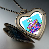 Necklace & Pendants - gift box photo italian large heart locket pendant necklace Image.