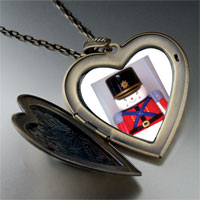 Necklace & Pendants - soldier boy large heart locket pendant necklace Image.