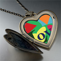 Necklace & Pendants - hearts love large heart locket pendant necklace Image.