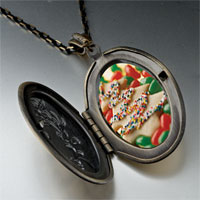 Necklace & Pendants - christmas pendants christmas tree gifts cookie halloween candy photo locket pendant necklace Image.
