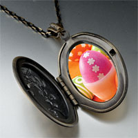 Necklace & Pendants - easter eggs photo locket pendant necklace Image.