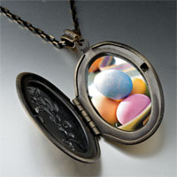 Necklace & Pendants - bowl easter eggs photo locket pendant necklace Image.