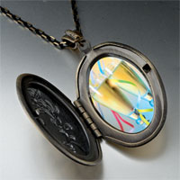 Necklace & Pendants - champagne party photo locket pendant necklace Image.