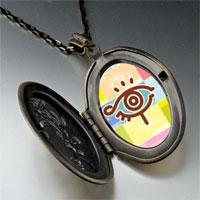 Necklace & Pendants - eye symbol photo locket pendant necklace Image.