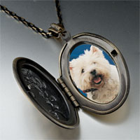 Necklace & Pendants - west highland terrier photo locket pendant necklace Image.