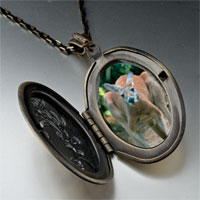 Necklace & Pendants - australia kangaroo photo locket pendant necklace Image.