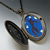 "Necklace & Pendants - icarus "" jazz""  photo locket pendant necklace Image."