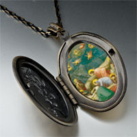 Necklace & Pendants - mourning christ art photo locket pendant necklace Image.