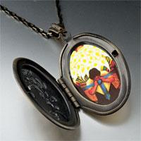 Necklace & Pendants - diego rivera' s el vendedor alcatraces photo locket pendant necklace Image.