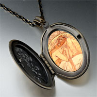 Necklace & Pendants - mucha' s poetry photo locket pendant necklace Image.