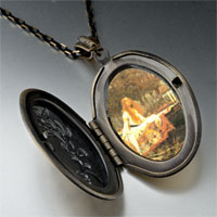 Necklace & Pendants - lady shallot photo locket pendant necklace Image.