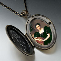 Necklace & Pendants - mrs john chapman photo locket pendant necklace Image.