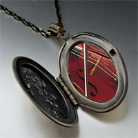 Necklace & Pendants - classical music violin photo locket pendant necklace Image.