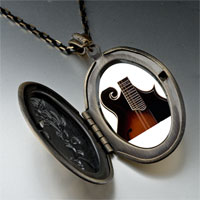 Necklace & Pendants - hollow body electric guitar photo locket pendant necklace Image.