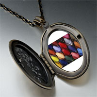 Necklace & Pendants - crayons children photo locket pendant necklace Image.