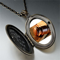 Necklace & Pendants - law photo locket pendant necklace Image.