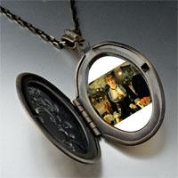 Necklace & Pendants - manet folies bergere art photo locket pendant necklace Image.