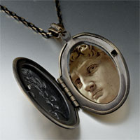 Necklace & Pendants - michelangelo david head photo locket pendant necklace Image.