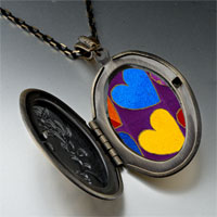 Necklace & Pendants - hearts photo locket pendant necklace Image.