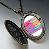 Necklace & Pendants - i love grandma photo locket pendant necklace Image.