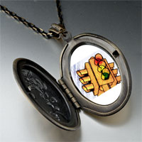 Necklace & Pendants - city traffic light photo locket pendant necklace Image.