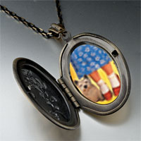 Necklace & Pendants - dorothy' s red shoes toto photo locket pendant necklace Image.