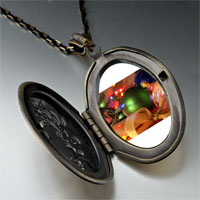Necklace & Pendants - christmas pendants christmas tree gifts decorations photo locket pendant necklace Image.