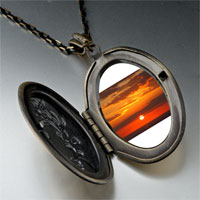 Necklace & Pendants - sunset ocean pendant necklace Image.