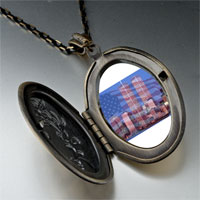 Necklace & Pendants - american twin towers pendant necklace Image.