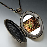 Necklace & Pendants - thanksgiving horn plenty pendant necklace Image.