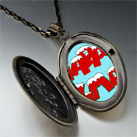 Necklace & Pendants - happy xmas pendant necklace Image.