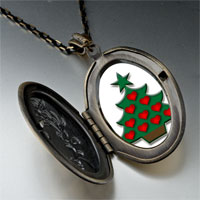 Necklace & Pendants - christmas pendants red heart christmas tree gifts pendant necklace Image.