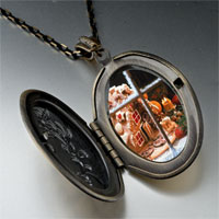 Necklace & Pendants - christmas window display pendant necklace Image.