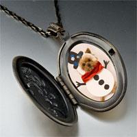 Necklace & Pendants - pendants puppy christmas gifts snowman pendant necklace Image.