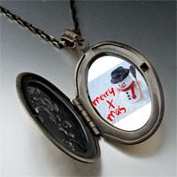 Necklace & Pendants - pendants merry xmas christmas gifts snowman pendant necklace Image.