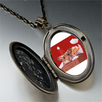 Necklace & Pendants - santa claus mouse pendant necklace Image.
