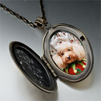 Necklace & Pendants - christmas jester dog pendant necklace Image.
