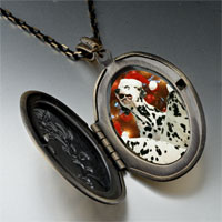 Necklace & Pendants - christmas dalmatian dogs pendant necklace Image.