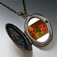 Necklace & Pendants - ho christmas lights pendant necklace Image.